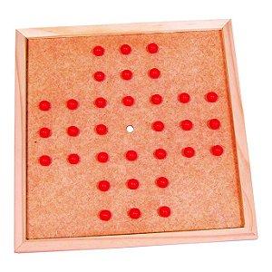 Jogo Resta Um - tabuleiro   (5anos ou+)