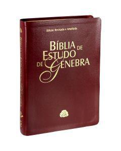 Bíblia de Estudo de Genebra - Vinho Nobre