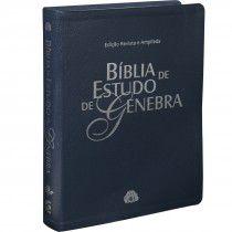 Bíblia de Estudo de Genebra - Azul Nobre