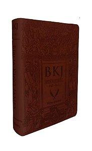 Bíblia King James Fiel - 1611: Letra Ultra Gigante - Marrom