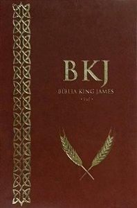Bíblia King James Fiel - 1611: Ultra Fina - Marrom