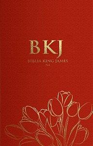 Bíblia King James Fiel - 1611: Ultra Fina - Vermelha