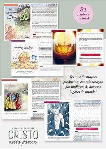 Devocional Ilustrada Cristo, nossa Páscoa / Benditas Blog