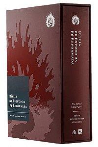 Bíblia de Estudo da Fé Reformada - Bordô