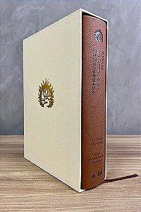 A Bíblia de Estudo da Fé Reformada - Capa Luxo Marrom