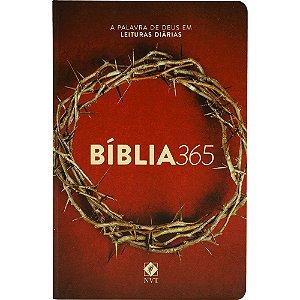 Bíblia NVT 365 LN - Coroa