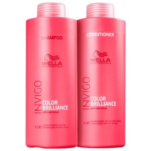 Kit Wella Professionals Invigo Color Brilliance Salon Duo (2 Produtos)