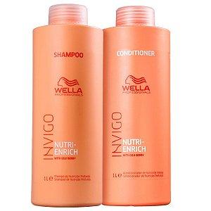 Kit Wella Professionals Invigo Nutri-Enrich Salon Duo