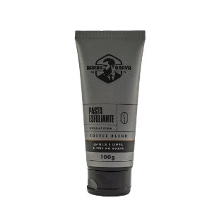 Pasta de Limpeza Esfoliante para Barba e Rosto Barba Brava Coffee Blend