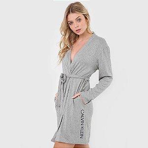 Robe Calvin Klein Cinza