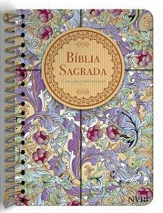 Bíblia Anote NVI espiral Cálamo e Canela