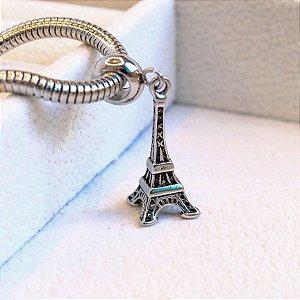 Berloque Torre Eiffel Aço