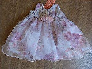 Vestido Bebê Gazar Kopela