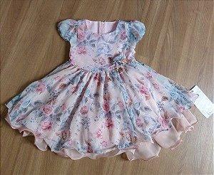 Vestido Infantil Beth Bebê