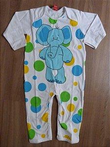 Macacão M/L Elefante Get Baby