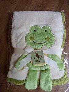Cobertor Microfibra Sapo