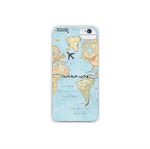 Capinha para Celular Mapa Mundial