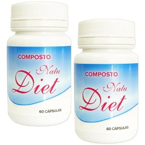 Natu Diet 60 cáps - kit 2 unidades