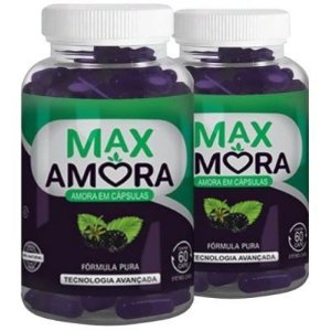 Max Amora - Kit 2 unidades