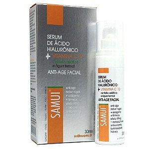 Serum Anti-Age Facial 30ml Samui - Vitamina C - Anti rugas mais colágeno e firmeza da pele