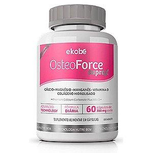 Osteo Force Suprax D 60 cáps - Saúde dos Ossos