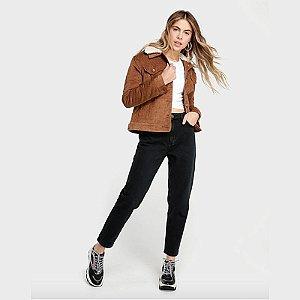 Jaqueta Jeans Cotelê Color