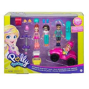 Polly Pocket Pacote De Atividades Esportivas Gnh09 - Mattel