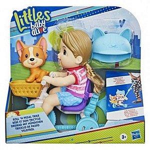 Littles Da Baby Alive- Velotrol, Boneca, Triciclo