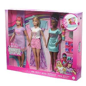 Barbie Princess Adventure Festa Do Pijama Da Mattel Gjb68