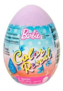 Barbie Color Reveal Ovo De Pascoa Mattel Sortido