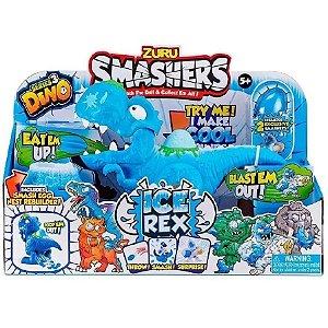 Dinossauro Ice Rex Ovo Surpresa Smashers Com Som F00632