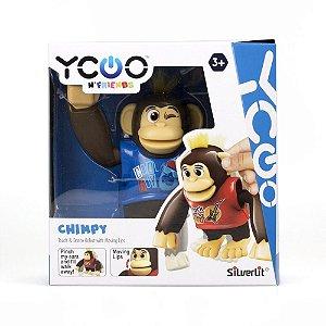 Boneco Macaco Chimpy Interativo -Candide MACACO DANCANTE