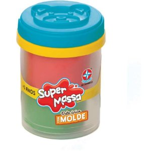 SUPER MASSA POTE UNICO COM MOLDE-PADRAO
