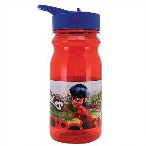 Garrafa Com Alca Miraculous Ladybug Vermelha 500ml Yazi