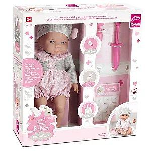 Boneca Babies Hora da Vacina - Roma