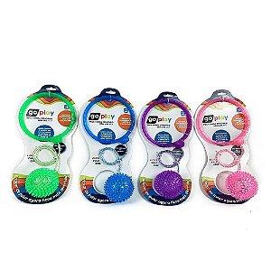 Pula Corda Giro Ball Com Luz Led Cores Sortidas BR1207