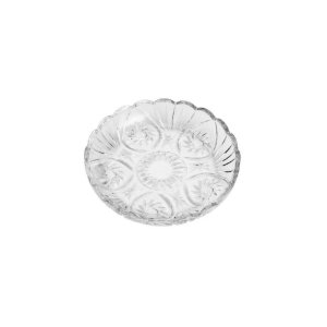 Prato De Sobremesa Cristal Prima 18,5cm Lyor Transparente
