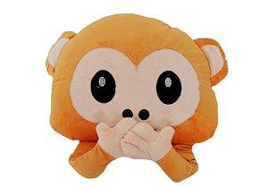 Almofada Emoji Whatsapp  - Macaco