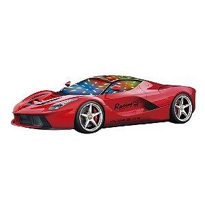 Carro Bate e Volta Last Amarelo DMT5070 - Dm Toys