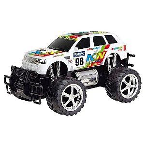 Carro Controle Remoto Giant Four Wheeler Rally Cks Cores