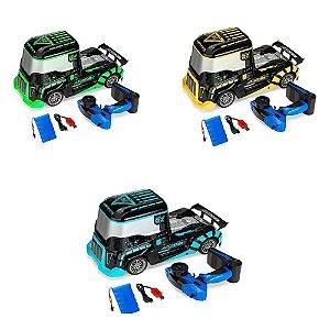 Carro Controle Remoto Formula Truck Azul Wb7751 Wellmix