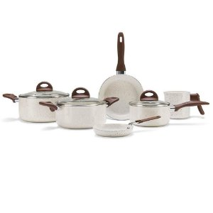 Conjunto Panelas Ceramic Life Smart 6 Pecas Vanilla Brinox