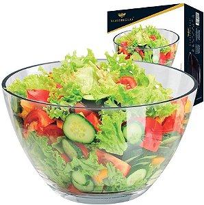 Conjunto De Saladeira Bowl Vidro Reggio Ruvolo
