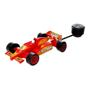 Carrinho Pe Na Tabua Estrela Brinquedo Com Pedal Original Corrida Formula 1