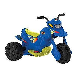 Moto eletrica XT3 azul eletrica 6V - bandeirante