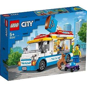 LEGO CITY 60253 VAN DE SORVETE 200 PECAS