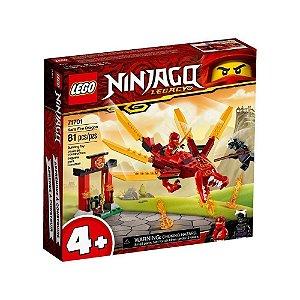 LEGO NINJAGO DRAGAO DE FOGO DO KAI 81