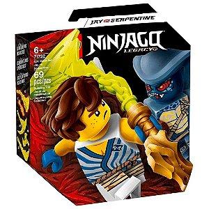 Lego Ninjago - Conjunto de Combate Epico Jay vs Serpentine
