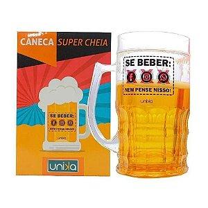 CANECA SUPER CHEIA DE BEBER 600ML