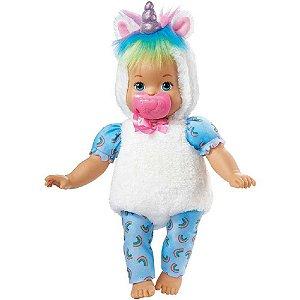 Boneca Little Mommy Fantasias Fofinha - FANTASIAS 30 cm Mattel